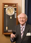 Philip Woodward and his W5 Clock.jpg