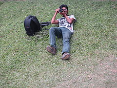 Phographer, Wikipedia Photowalk, Rajshahi.JPG