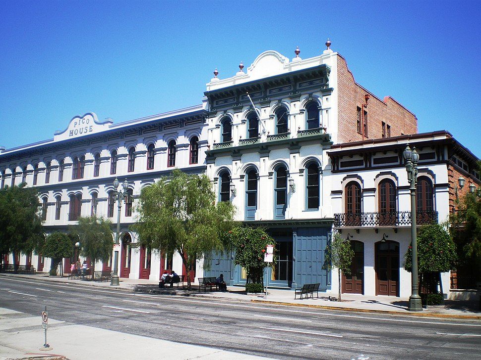 Pico House - Merced Theater - Masonic Hall