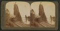 Picturesque grandeur of the great Columbia River, remarkable 'Pillars of Hercules', (west) Oregon, from Robert N. Dennis collection of stereoscopic views.png