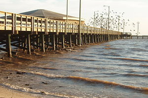 Palacios, Texas - Pier on Palacios waterfront