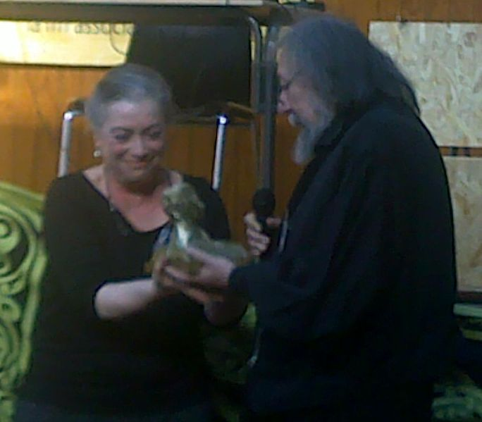 Pierre Dubois reçoit le prix Oriande d'honneur