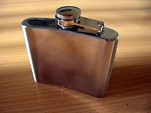 Hip flask - A hip flask