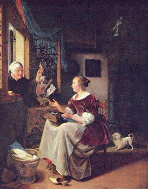 Pieter Cornelisz van Slingelandt - Image: Pieter Cornelisz van Slingelandt 001