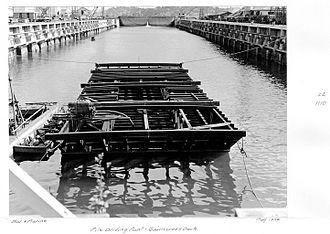 Cairncross Dockyard - Cairncross Dock, May 1954