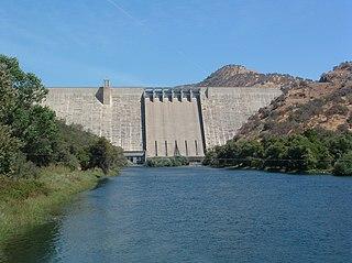 Pine Flat Dam Dam in Fresno County, California