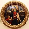 Pinturicchio e bottega, madonna col bambino e san giovannino, 1490-1500 ca. 01.JPG