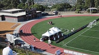 Pioneer Stadium - Image: Pioneer Stadium field 2