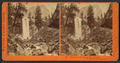 Piwyac, or the Vernal Fall, 300 feet. Yosemite Valley, Mariposa Co, by Watkins, Carleton E., 1829-1916.png