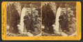 Piwyac, or the Vernal Fall, 300 feet from the cliff, Yosemite Valley, Mariposa County, Cal, by Watkins, Carleton E., 1829-1916 3.png