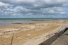 Plage de Saint Aubin sur Mer, Calvados - fin mars 2016.jpg