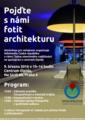 Plakát na Týden otevřeného vzdělávání - fotografování architektury.xcf