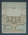 Plan över sjögård på Skoklosters slott - Skoklosters slott - 39462.tif
