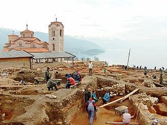 Church of Saints Clement and Panteleimon - Image: Plaoshnik Ohrid