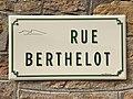 Plaque Rue Berthelot - Solutré-Pouilly (FR71) - 2021-03-02 - 1.jpg