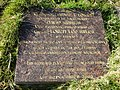 Plaque for persons killed in World War Two air crash, at Tullykeeran Mountain above Maghera. - geograph.org.uk - 1034027.jpg