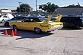 Plymouth Roadrunner Superbird 1970 Lemon Twist Yellow Arrival 01 TBS 09Feb2014 (14585598392).jpg