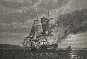 HMS Hercule (1798) - Image: Pock mars hercule (cropped)