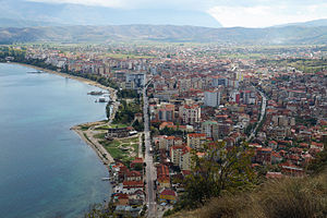 Pogradec - Overview of the city