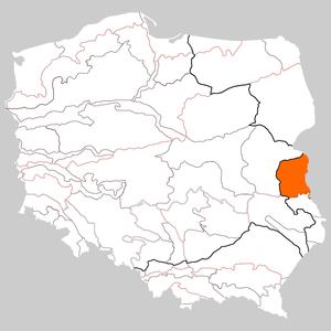 Western Polesie - Image: Polesie Zachodnie