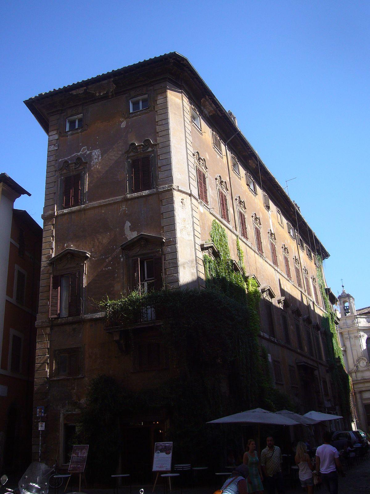 Palazzo gambirasi wikipedia - Architetto palazzo congressi roma ...
