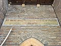 Porch of St Mary's Church, Whitchurch, August 2020 02.jpg