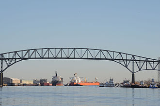 Sabine–Neches Waterway - Image: Port Arthur Oil Spill DVIDS1094142