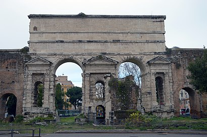 How to get to Porta Maggiore with public transit - About the place