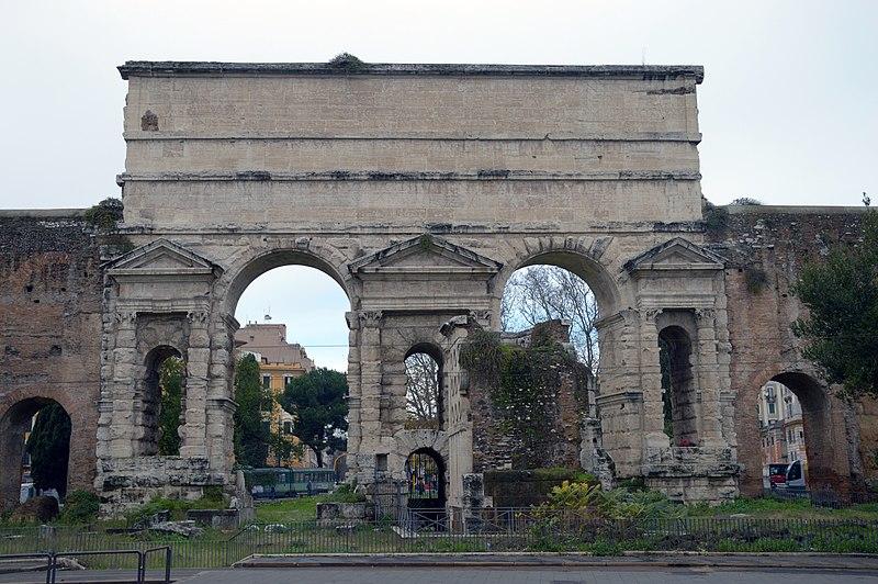 File porta maggiore larger gate or porta prenestina for Porta maggiore