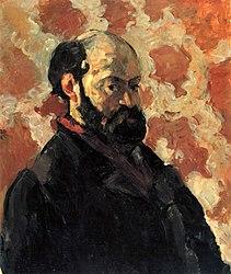 Paul Cézanne: Selbstporträt vor rosa Hintergrund