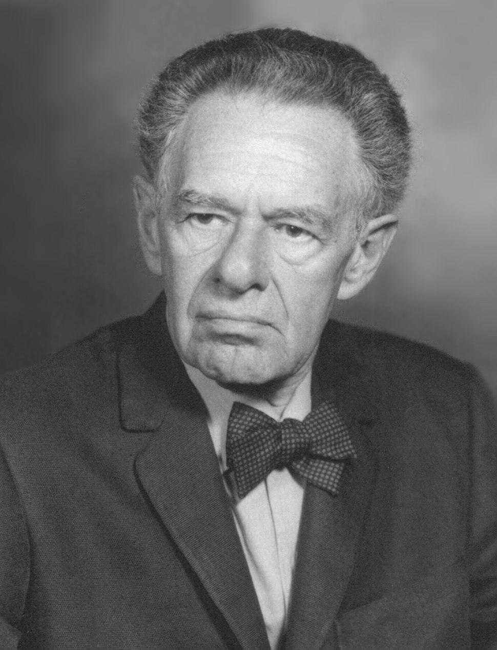 Portrait of Fritz Albert Lipmann (1899-1986), Biochemist (2551001689)