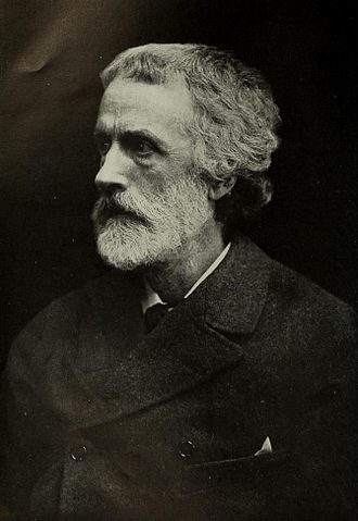 George Meredith - George Meredith in middle age