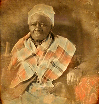 "Mammy archetype - Mauma Mollie. She died in the 1850s at the home of the white Florida family she served. A family member described her as nursing ""nearly all of the children in the family"", and said that they loved her as a ""second mother""."