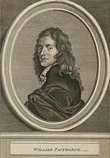 William Faithorne British artist