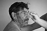 Portrait of old Gypsie (RO) HAJN 4431 bw.jpg
