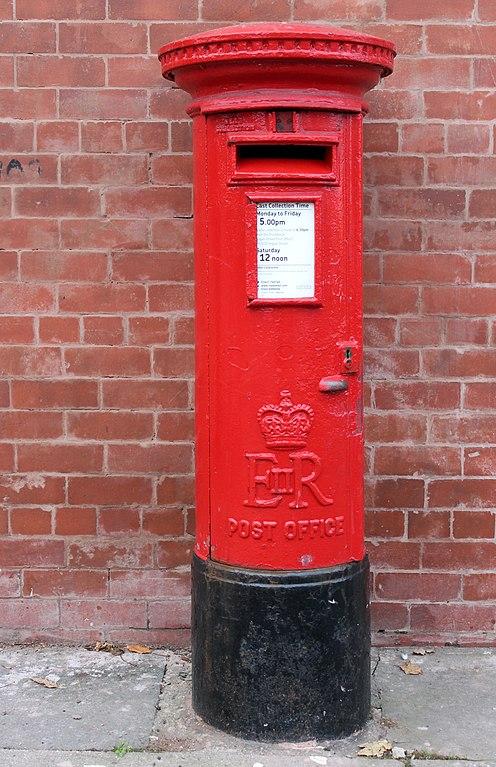 File:Post box on Duke Street, Birkenhead jpg - Wikimedia Commons