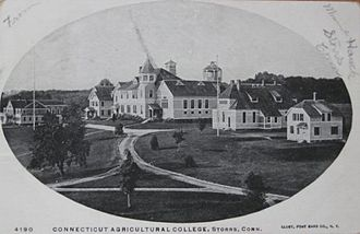 University of Connecticut - University of Connecticut, circa 1903