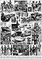 Poste planche - Post, mail, historical, airmail, uniforms, in France, etc. - Public domain illustration from Larousse du XXème siècle 1932.jpg