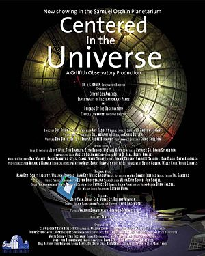 Centered in the Universe - Theatrical poster