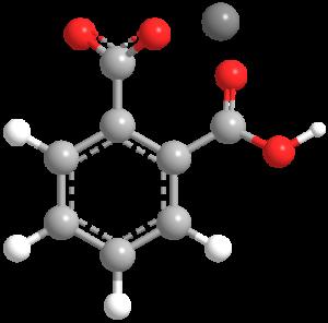 Potassium hydrogen phthalate - Image: Potassium hydrogen phthalate 3D skeletal