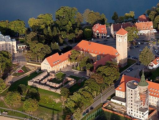 Pozostałości zamku w Szczytnie