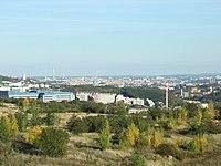 Praha, Řepy, pohled na Motol.JPG