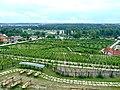 Praha, Trója, Pohled na zámeckou zahradu.jpg