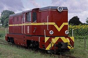 PKP class Lxd2 - Image: Prawy Brzeg Wisły Lxd 2 315