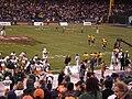 Pregame at 2008 Emerald Bowl.JPG