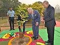 President Ram Nath Kovind and Prince of Wales planting a tree.jpg
