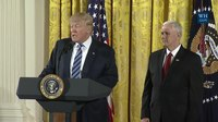 File:President Trump Attends the White House Senior Staff Swearing In.webm