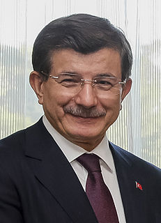 Ahmet Davutoğlu 26th prime minister of Turkey