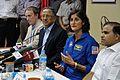 Press Conference - Sunita Lyn Williams - Science City - Kolkata 2013-04-02 7607.JPG
