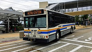 TheBus (Prince George's County) - Image: Prince George County Transit THE BUS Gillig Phantom